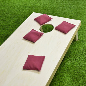 GoSports Official Regulation Cornhole Bean Bags Set (4 All Weather Bags) - Crimson/Burgundy Cornhole playgosports.com