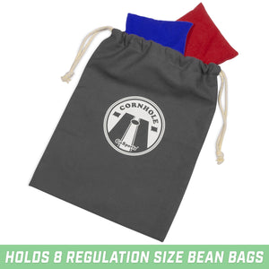 GoSports Gray Cornhole Bean Bag Tote Carry Case Cornhole playgosports.com