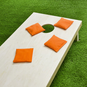 GoSports Official Regulation Cornhole Bean Bags Set (4 All Weather Bags) - Orange Cornhole playgosports.com