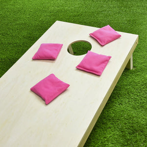 GoSports Official Regulation Cornhole Bean Bags Set (4 All Weather Bags) - Pink Cornhole playgosports.com
