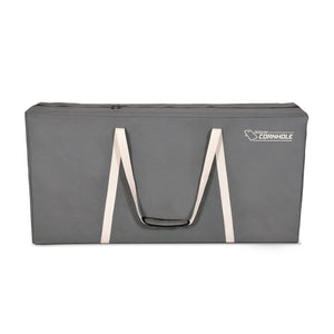 GoSports PRO Grade Canvas Cornhole Case | 4' x 2' Regulation Size | Gray Color Cornhole playgosports.com