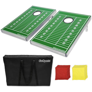 GoSports Cornhole Bean Bag Toss Game Set, Football Edition Cornhole playgosports.com