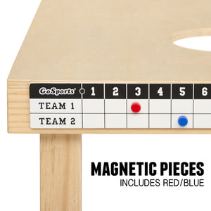 GoSports Premium Cornhole Scoreboard with Magnetic Score Keepers - Mounts to Any Cornhole Board Cornhole playgosports.com