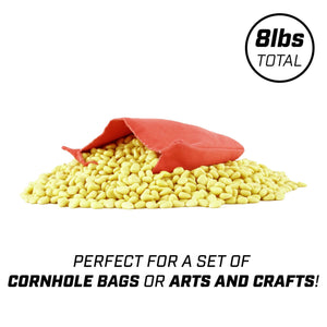 GoSports Synthetic Corn Fill | 8 Pound Bulk Bag | Great for Cornhole Bags, Crafts and More Cornhole playgosports.com
