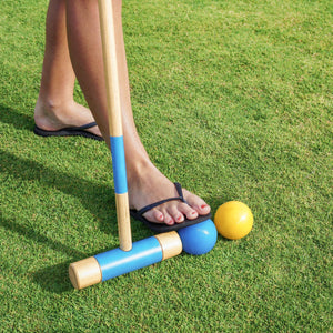 GoSports Deluxe Croquet Set - Full Size for Adults & Kids Croquet playgosports.com