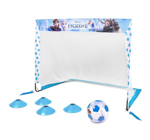 Disney Frozen 2 Soccer Goal Set for Kids by GoSports | Includes 4' x 3' Soccer Goal, Size 3 Soccer Ball and Cones Soccer playgosports.com