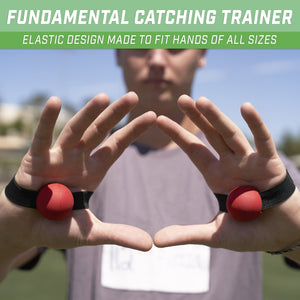 GoSports Perfect Catch Football Receiver Trainers | Teach Fundamentals and Proper Catching Technique Football playgosports.com