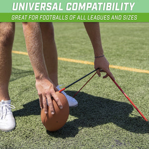 GoSports Football Kicking Tee | Metal Place Kicking Stand for Field Goal Kicks - Portable Holder Compatible with All Football Sizes Football playgosports.com