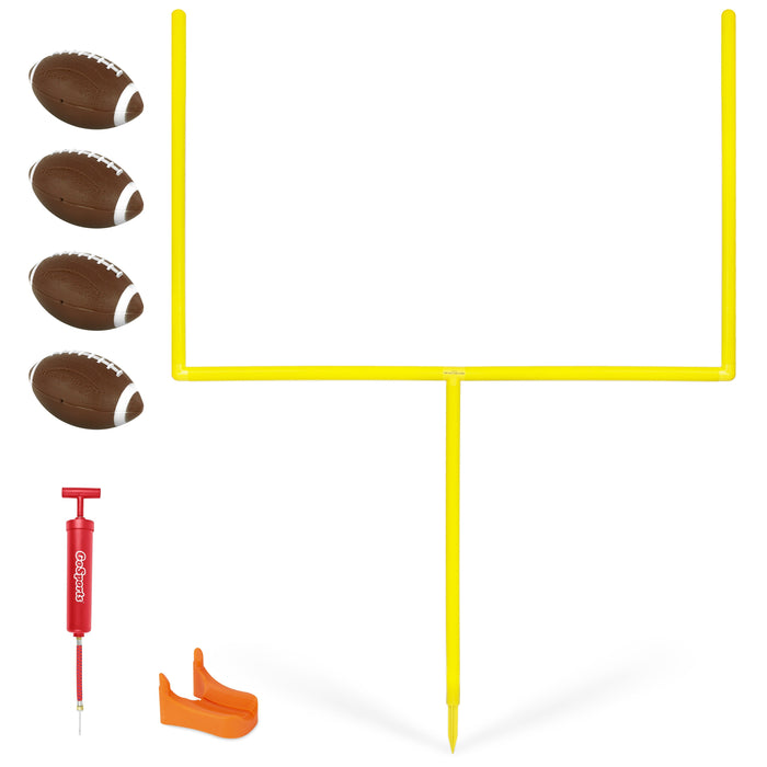 GoSports PRO Kick Challenge Field Goal Post Set