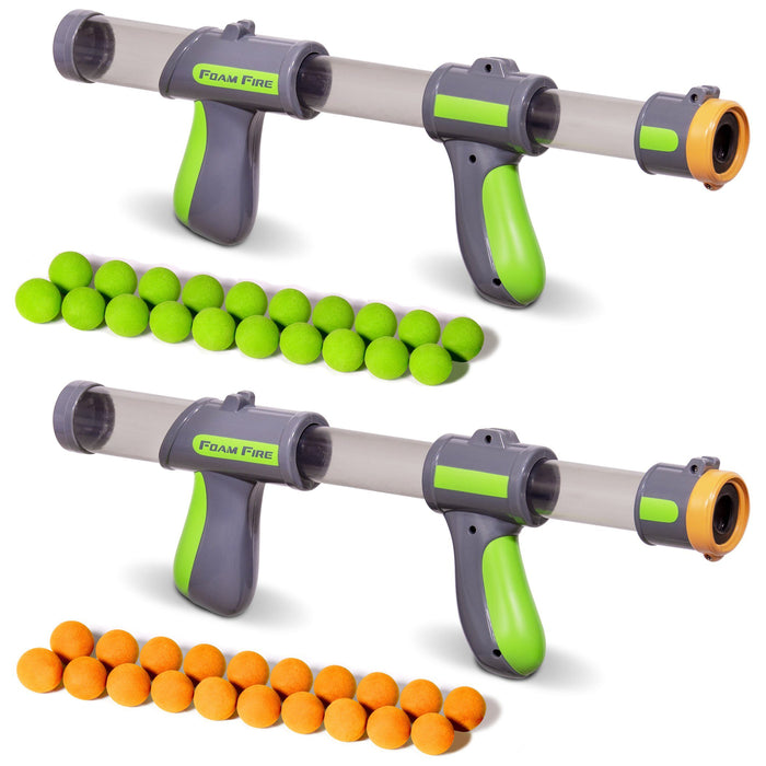 GoSports Official Foam Fire Blasters | 2 Pack Toy Blasters