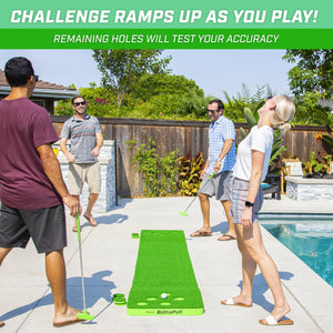 GoSports BattlePutt Pong Inspired Golf Putting Game | Includes Putting Green, 2 Putters and 2 Golf Balls Golf playgosports.com