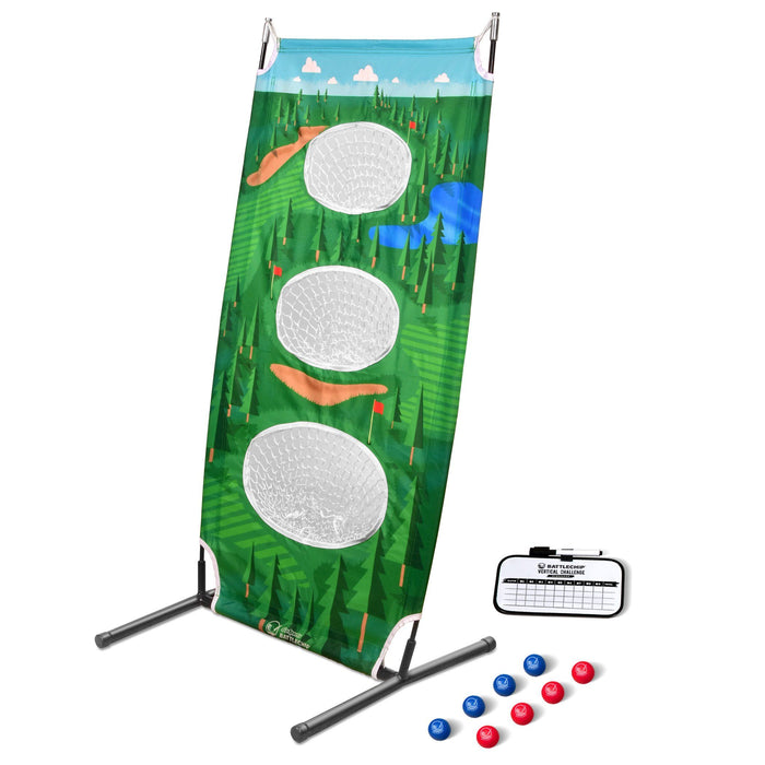 GoSports BattleChip Vertical Challenge Backyard Golf Game | Fun New Golf Chipping Game for All Ages & Abilities