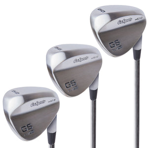 GoSports GS Tour Pro Golf Clubs Wedge Set - 52°, 56°, 60 Degree Wedges Golf playgosports.com