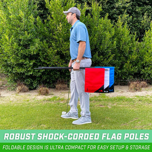 GoSports Golf Flags 3 Pack | Great for Practice and Backyard Family Golf Games Golf playgosports.com