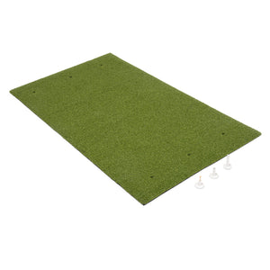 GoSports Golf Hitting Mat | 5x3 Artificial Turf Mat for Indoor/Outdoor Practice | Includes 3 Rubber Tees Golf playgosports.com