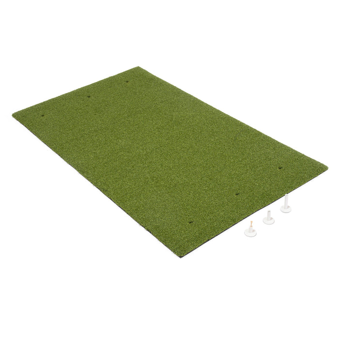 GoSports Golf Hitting Mat | 5x3 Artificial Turf Mat