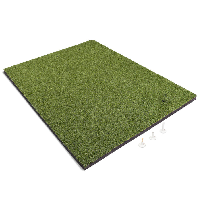 GoSports Golf Hitting Mat | PRO 5x4 Artificial Turf Mat