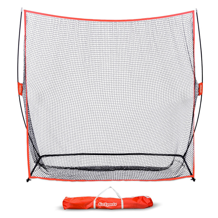 GoSports Golf Practice Hitting Net | Huge 7' x 7' Personal Driving Range Swing Practice