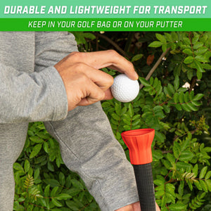 GoSports Golf Ball Pickup Tool - 3 Pack Putter Attachment Ball Retriever Golf playgosports.com
