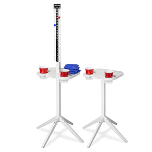 GoSports ScoreCaddy Outdoor Game Score Keeper & Drink Stand Set Cornhole playgosports.com