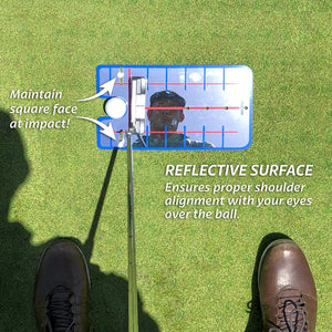 GoSports Golf Putting Alignment Mirror | Designed by Golfers for Golfers Golf playgosports.com
