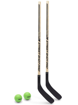 GoSports Hockey Street Sticks | Premium Wooden Hockey Sticks for Street Hockey Team Sports, Golf playgosports.com