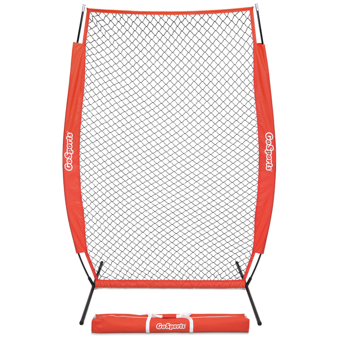 GoSports 7' x 4' I Screen | Baseball & Softball Pitcher Protection Net | Must Have for Safe Training