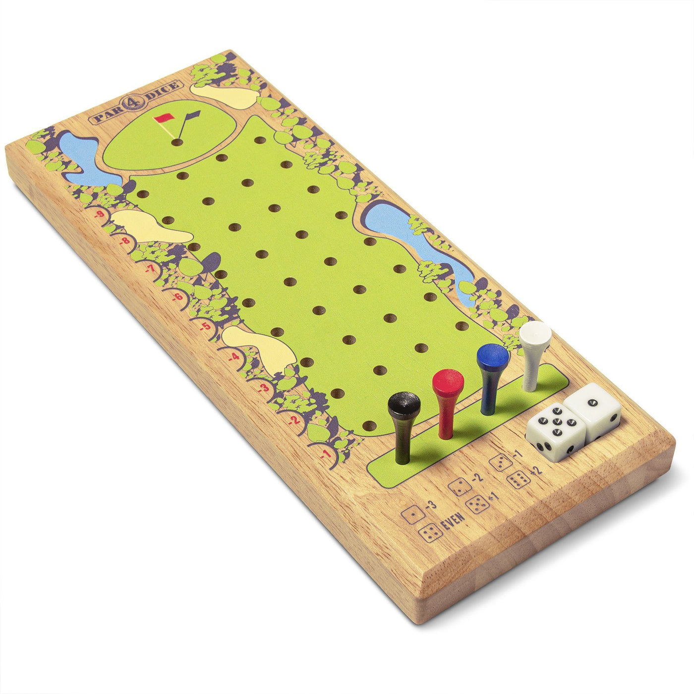 Gosports Par 4 Dice Golf Tabletop Game Quick Fun Games For All Ages Playgosports Com