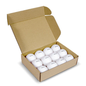 GoSports 55mm XL Ping Pong Balls 12 Pack | Jumbo Table Tennis Balls for Ping Pong Training or Other Toss Games Pong Balls playgosports.com