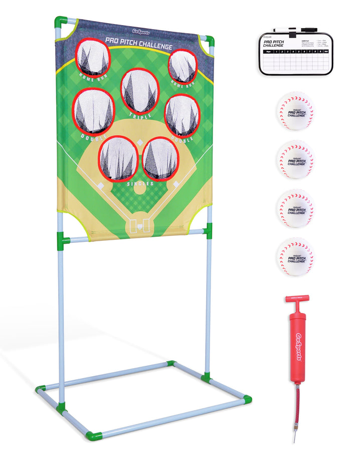 GoSports Pro Pitch Challenge Baseball Toss Game Set