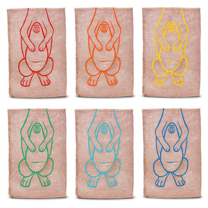 GoSports Roo Racers Sack Race Game 6 Pack | XL Size Burlap Potato Sack Races for Kids & Adults Limbo playgosports.com