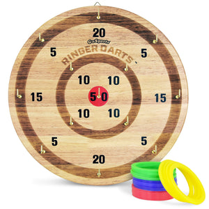 GoSports Ringer Darts Toss Game | Indoor Outdoor Hook Ring Toss Set for Kids & Adults Ring Darts playgosports.com