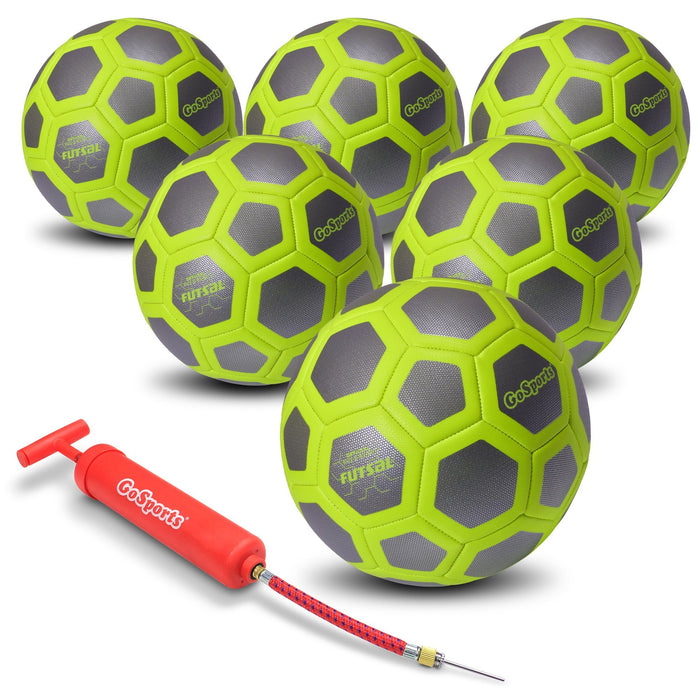GoSports ELITE Futsal Ball 6 Pack