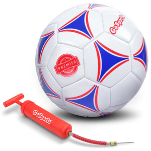 GoSports Premier Soccer Ball with Premium Pump, Size 5 Soccer Ball playgosports.com