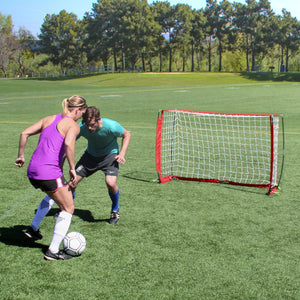 GoSports 6' ELITE Soccer Goal - Includes 1 6' Goal, 6 Cones & Carrying Case Soccer Goal playgosports.com