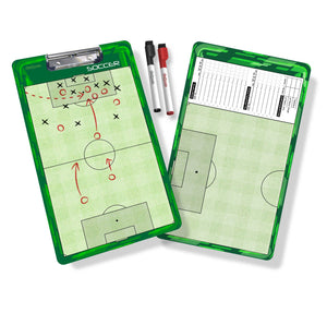 GoSports Soccer Coaches Boards - 2 Sided Premium Dry Erase Clipboards Coaches Board playgosports.com