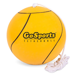 GoSports Tetherball and Rope Set, Full Size Backyard Outdoor Tetherball - Universally Compatible Tetherball Replacement Playground Ball playgosports.com
