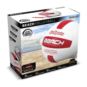 GoSports Pro Series Outdoor Beach Volleyball - Regulation Size & Weight with Bonus Air Pump Volleyball playgosports.com