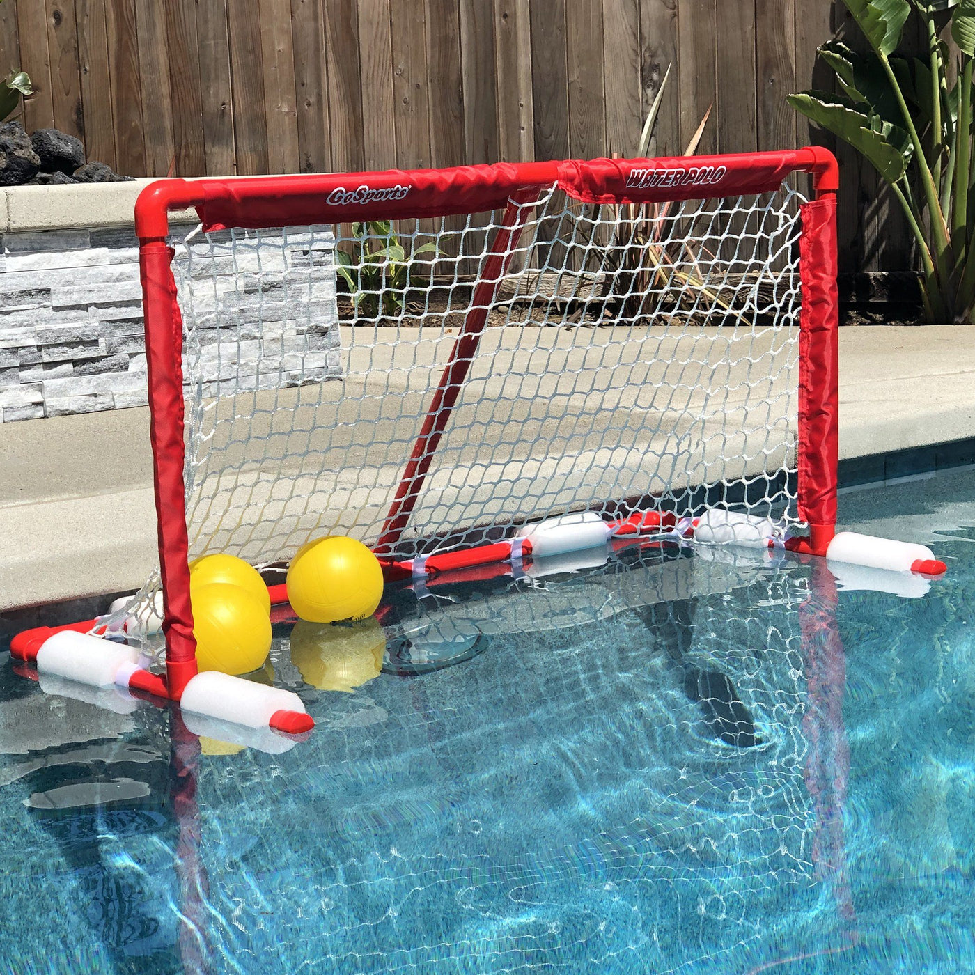 4-in-1 Sports Arena Basketball Water Polo,/& Soccer play land or water Football