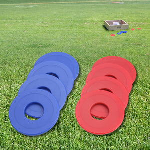 GoSports Plastic Coated Metal Replacement Washer Set - Plastic Coated Metal - Set of 8 Washers Washer Toss playgosports.com