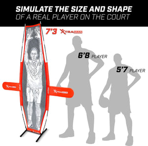 GoSports XTRAMAN Basketball Dummy Defender Training Mannequin Xman playgosports.com