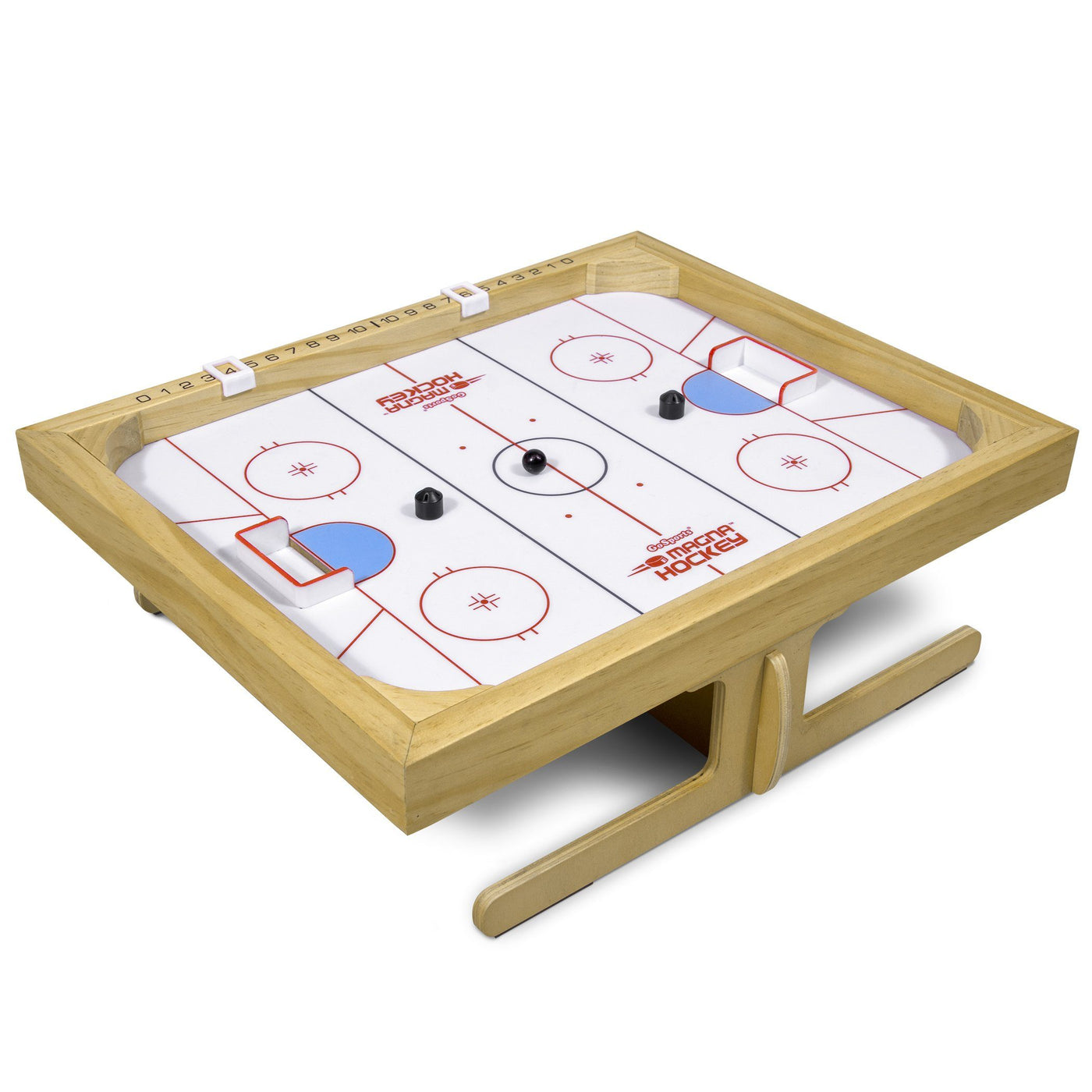 Gosports Magna Hockey Tabletop Board Game Magnetic Game Of Skill For Playgosports Com