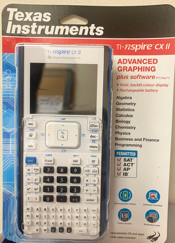 Calculator TI-Nspire CX II
