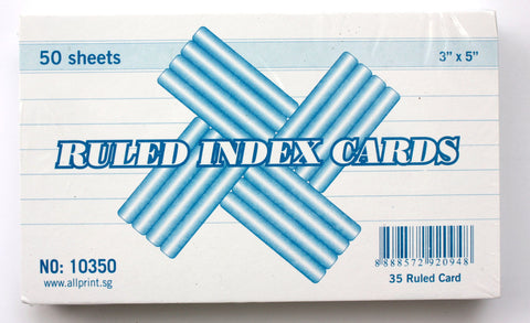 Index Cards