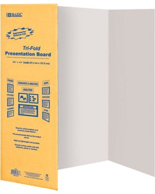 Tri-Fold Corrugated Presentation Board