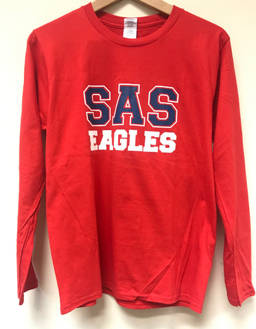 Long Sleeve Red Eagles 2017