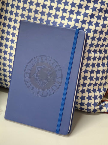 Debossed SAS Logo Notebook