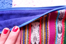 Load image into Gallery viewer, Nova Corte Pouch Bag with Tassle in Multicolour