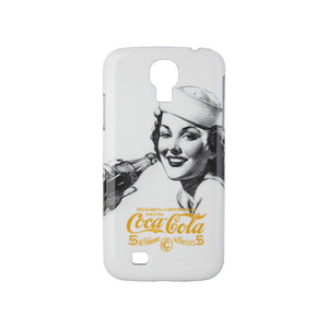 Coca Cola Sailor Hat Lady Samsung Galaxy S4 Case