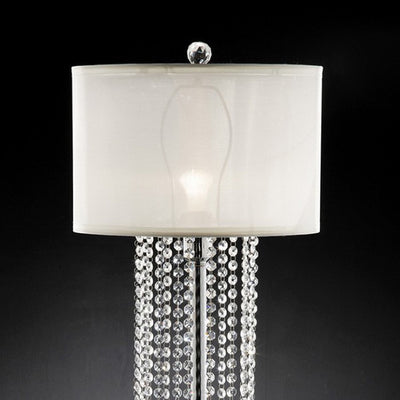 Traditional Table Lamp, Ivory